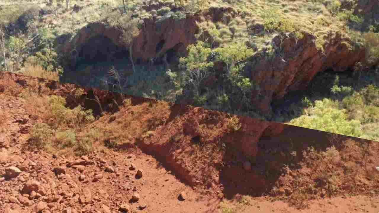 grotta Juukan Gorge