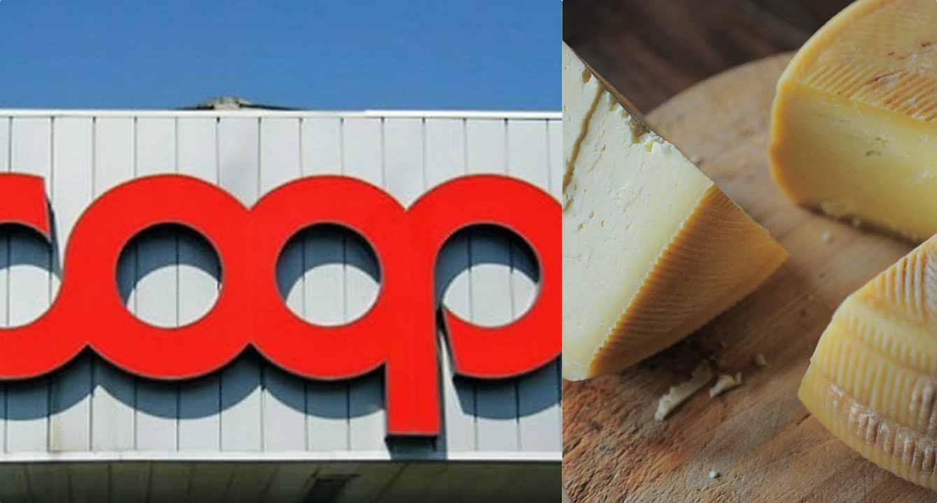 """Richiamo alimentare, Coop ritira noto formaggio Dop: """"Rischio batteriologico"""""""