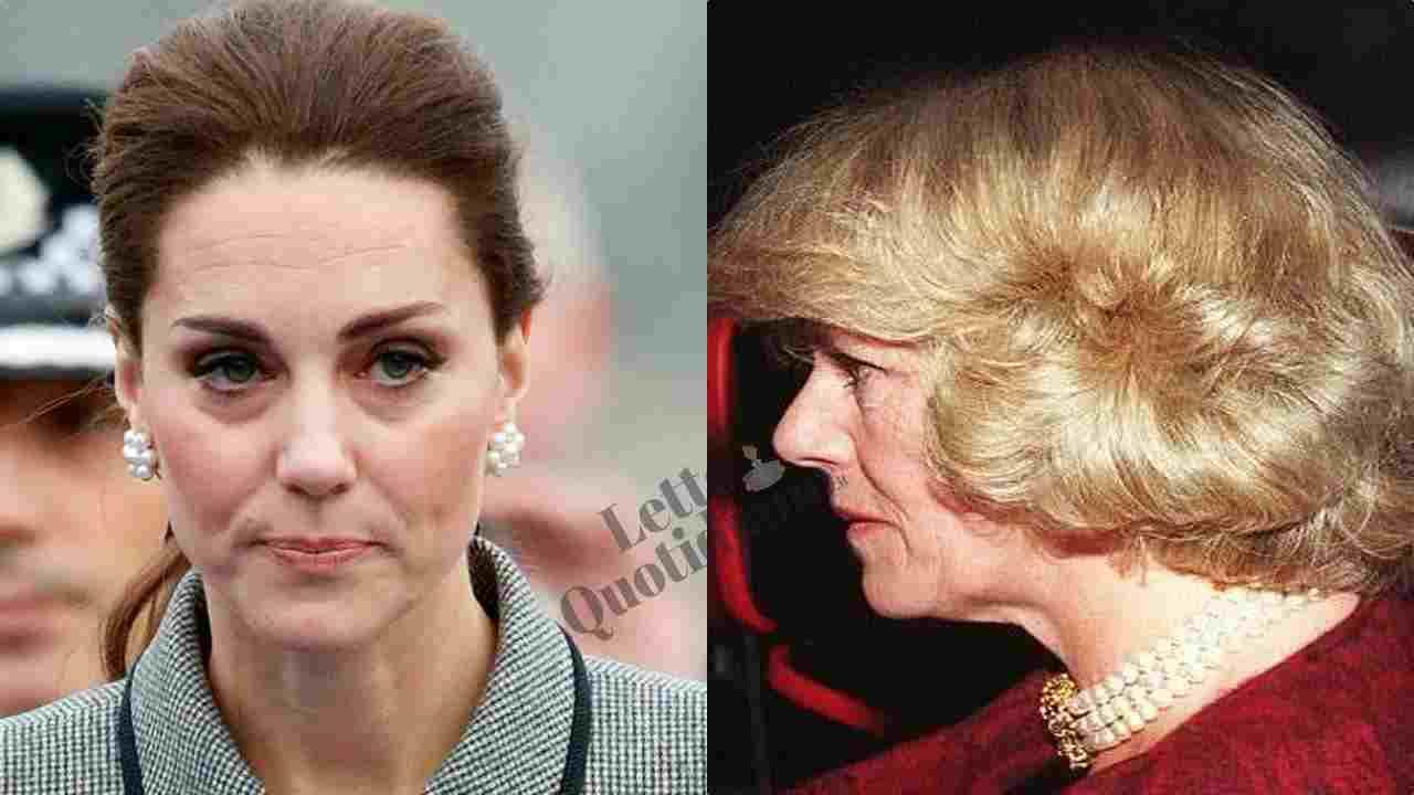 """Camilla Parker, l'umiliazione di Kate Middleton: """"Un gesto brutale"""""""