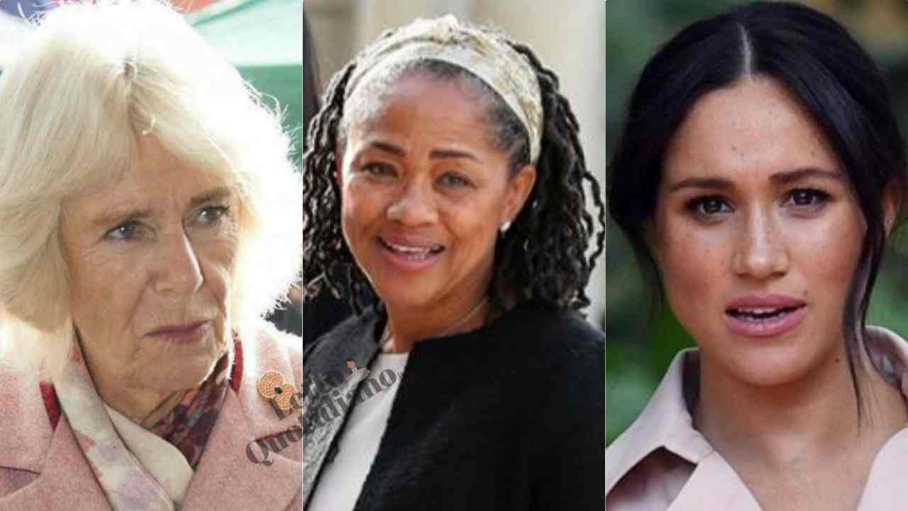 Camilla Parker a ruota libera sulla madre di Meghan Markle: le sue parole lasciano il segno