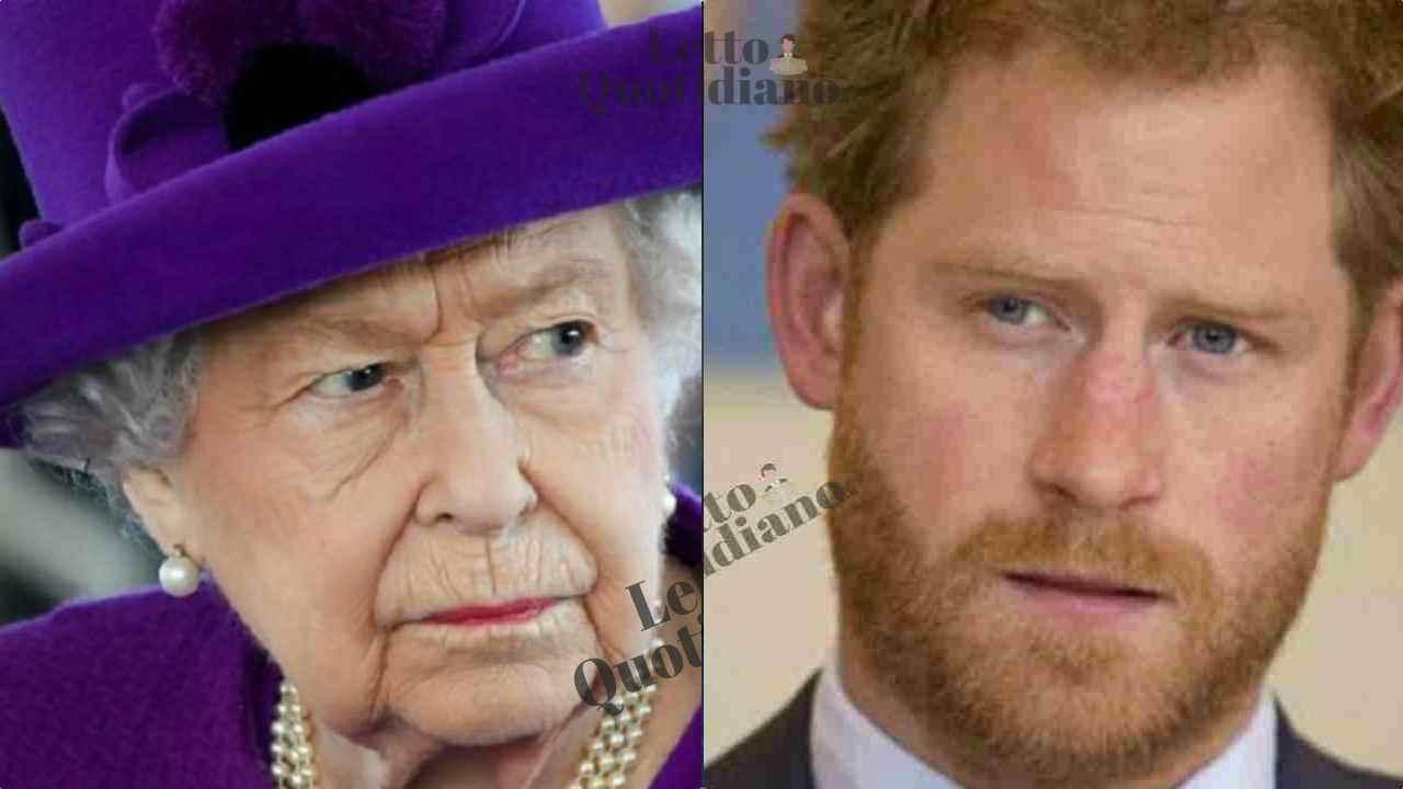 Principe Harry, l'intimo sfogo inaspettato contro la nonna Regina Elisabetta