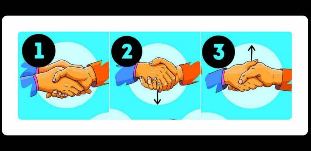 Come stringi la mano? Ecco cosa rivela sulla tua personalità