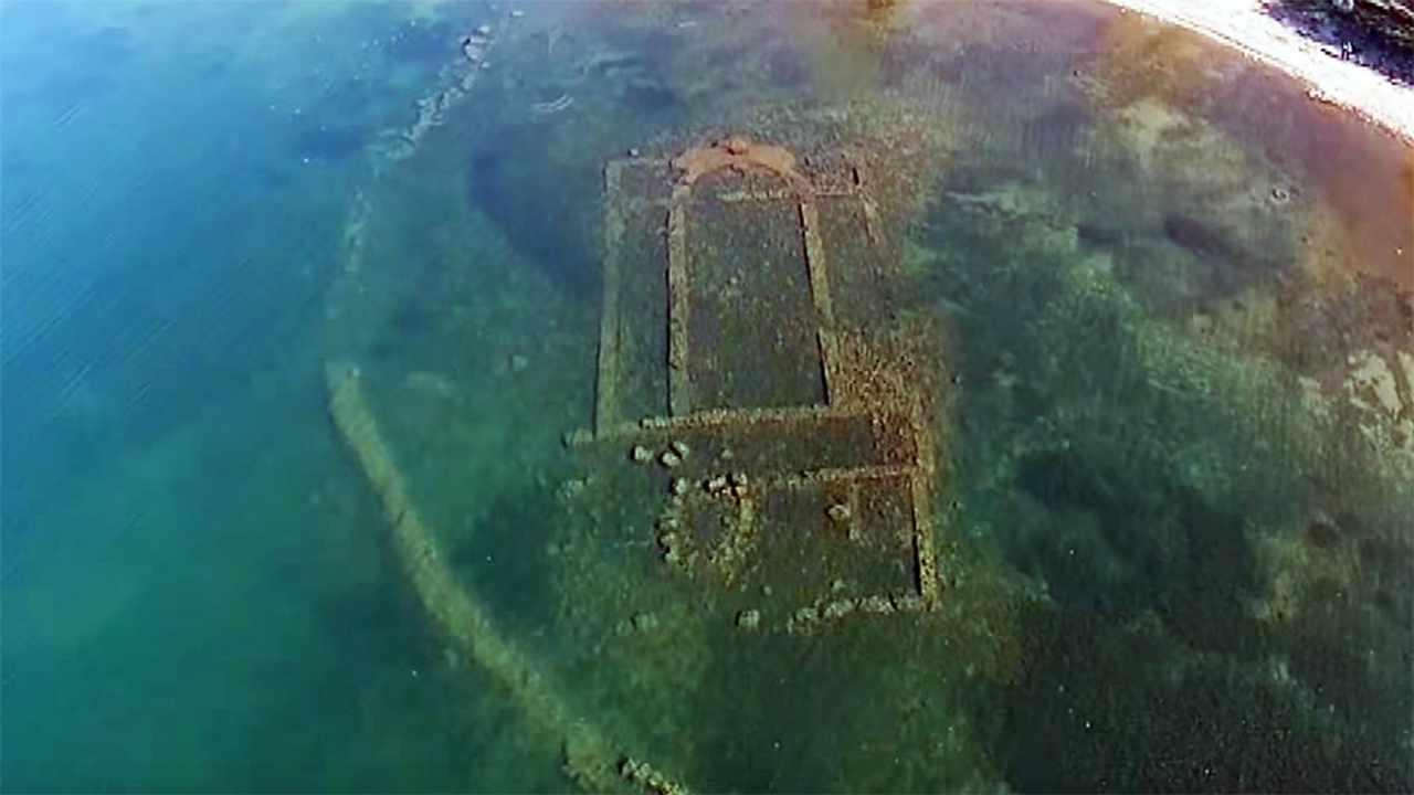 Basilica bizantina lago di Iznik