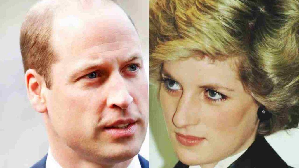 Principe William, Diana e i rapporti con la medium