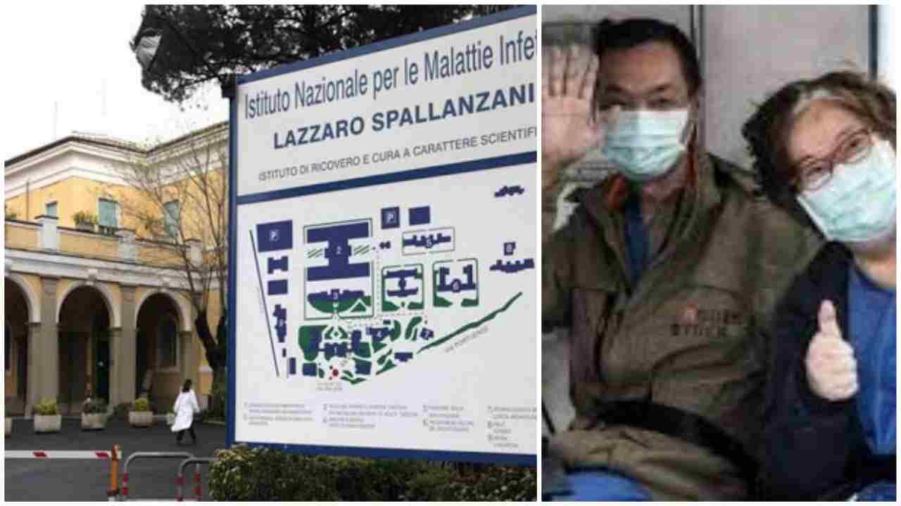 coppia cinesi fa donazione allo Spallanzani