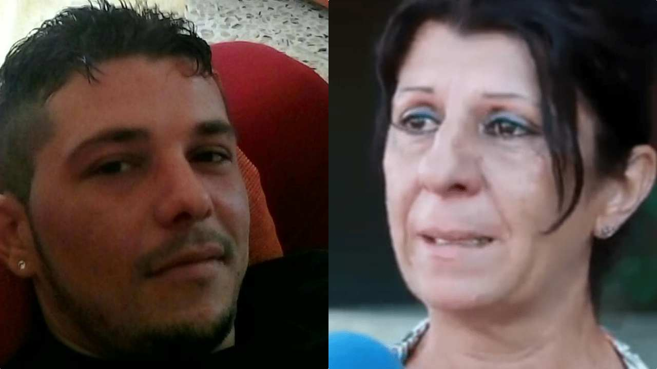 Francesco Armiento e la mamma