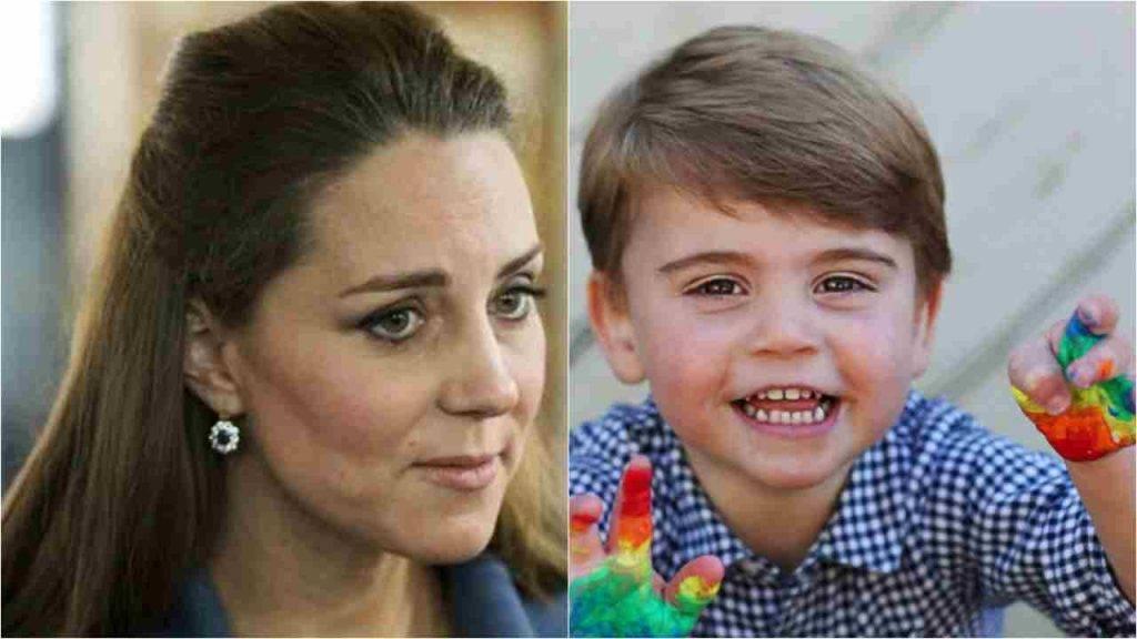 Kate Middleton, Louis e il dramma dell'ultimo figlio
