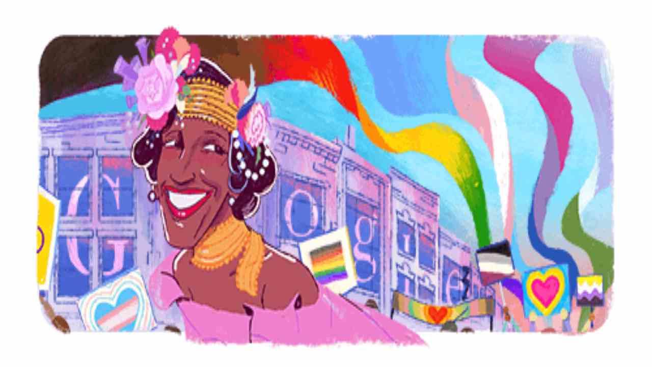 Marsha P. Johnson, chi è il doodle di Google del 30 giugno 2020?