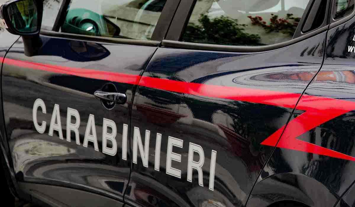 carabiniere investito