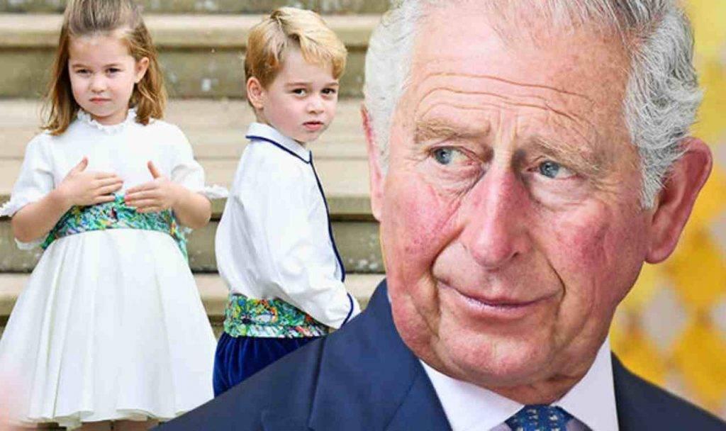 Principe Carlo il nomignolo affibbiato dai suoi nipoti
