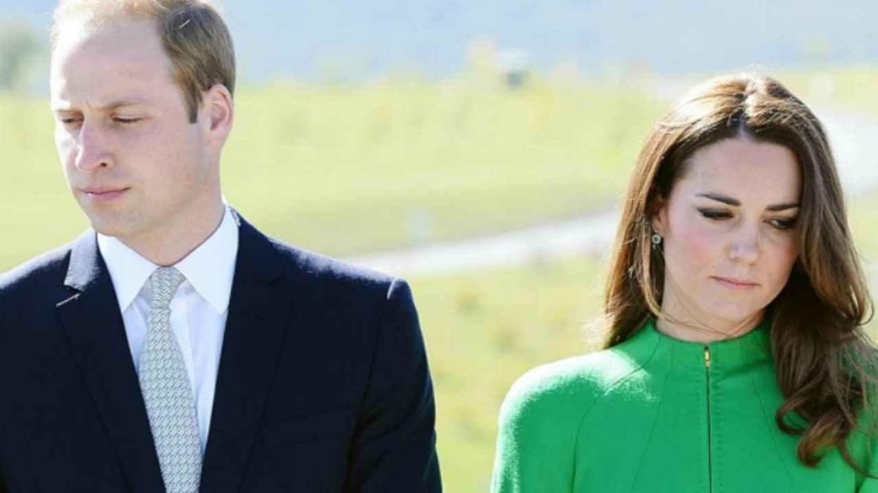 """""""Lo sanno tutti"""", la furia del Principe William contro la moglie Kate Middleton"""