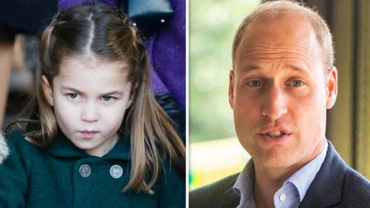 Principessa Charlotte Principe William