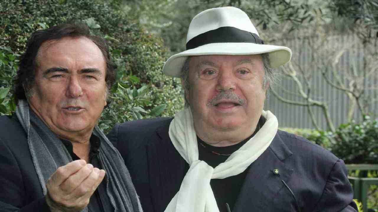 """Albano Carrisi e Lino Banfi dicono addio alla fiction insieme per """"Grandi problemi economici"""""""