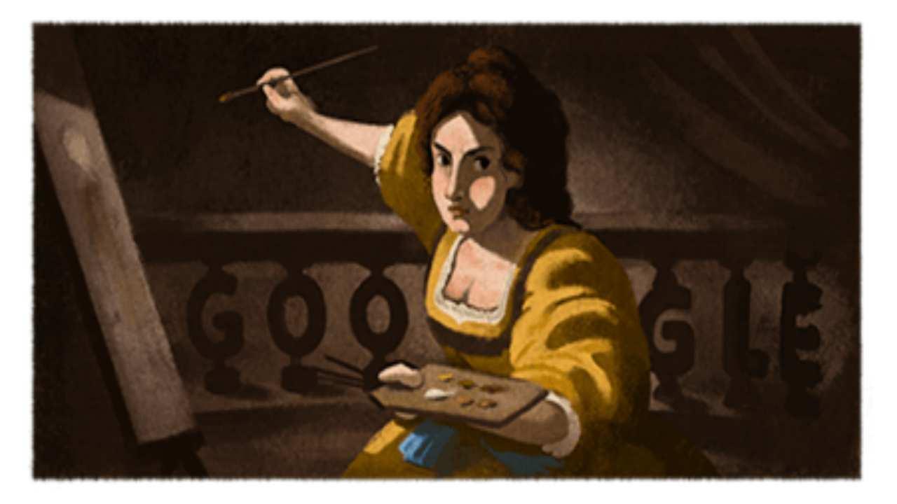 Artemisia Gentileschi, chi è la pittrice italiana del doodle di Google dell'8 luglio 2020?