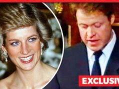 Lady Diana e il fratello Charles