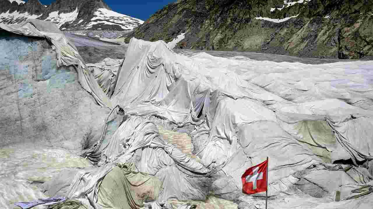 ghiacciaio teli