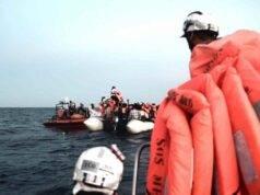 migranti naufragio Manica