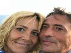 Eleonora Perraro ed il marito