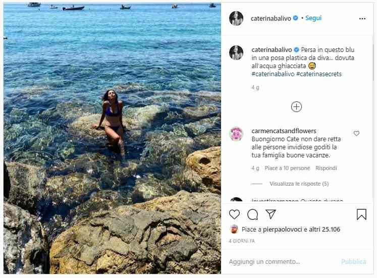 Caterina balivo vacanze