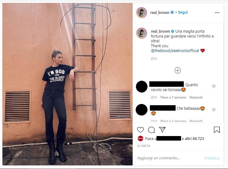 Emma Marrone cede alle lusinghe di photoshop?La risposta della cantante