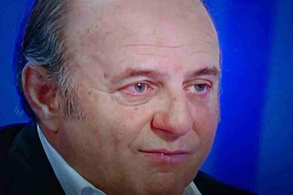 Gerry Scotti, danni al metatarso dopo l'incidente