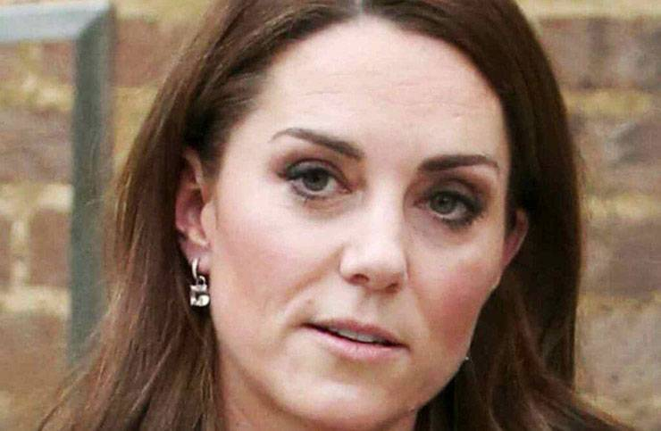 Kate Middleton pirmo piano