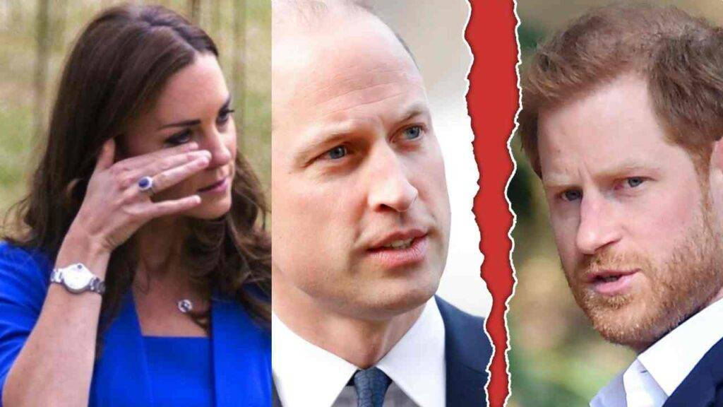 Kate Middleton dramma william harry