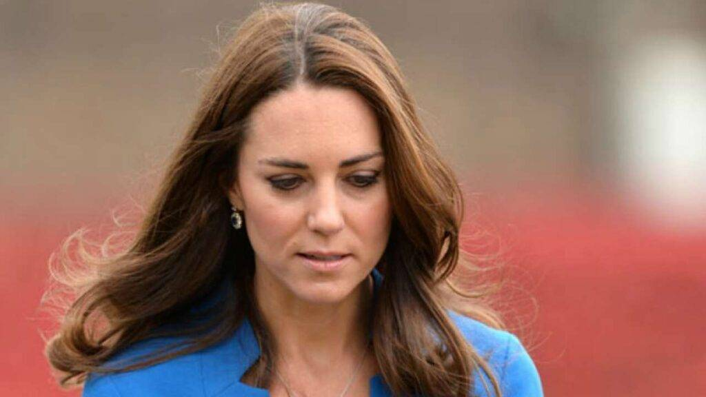 Kate Middleton piange lacrime