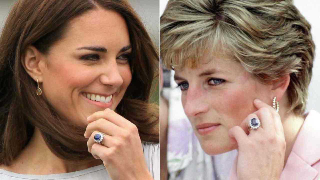 Kate middleton gioielli lady diana