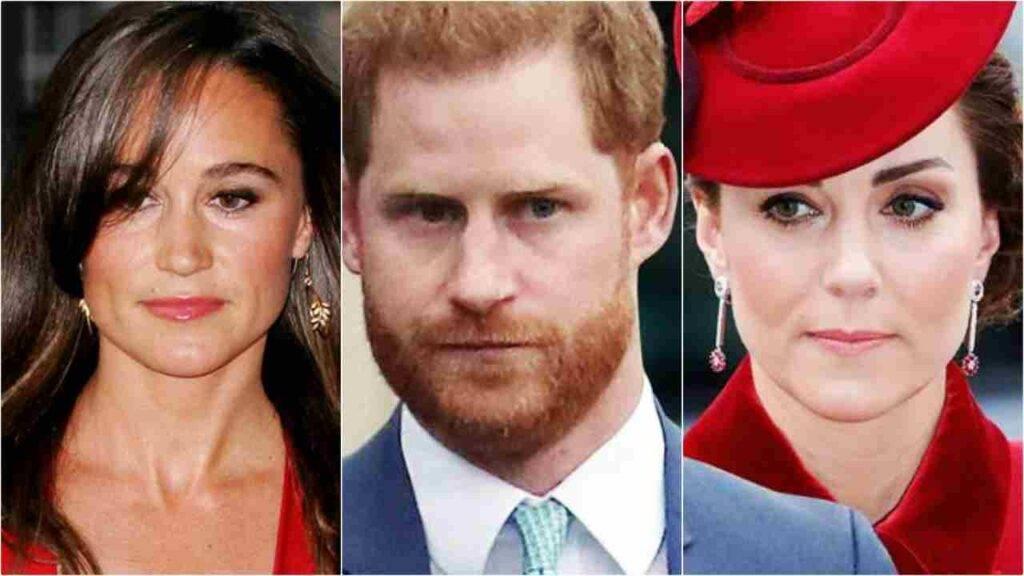Kate sorprese Harry con Pippa