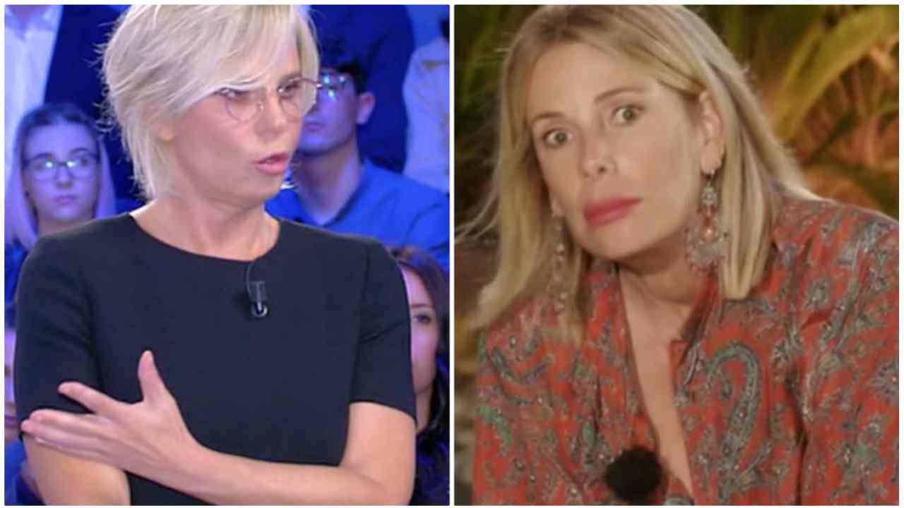 Maria De Filippi Alessia Marcuzzi attacco