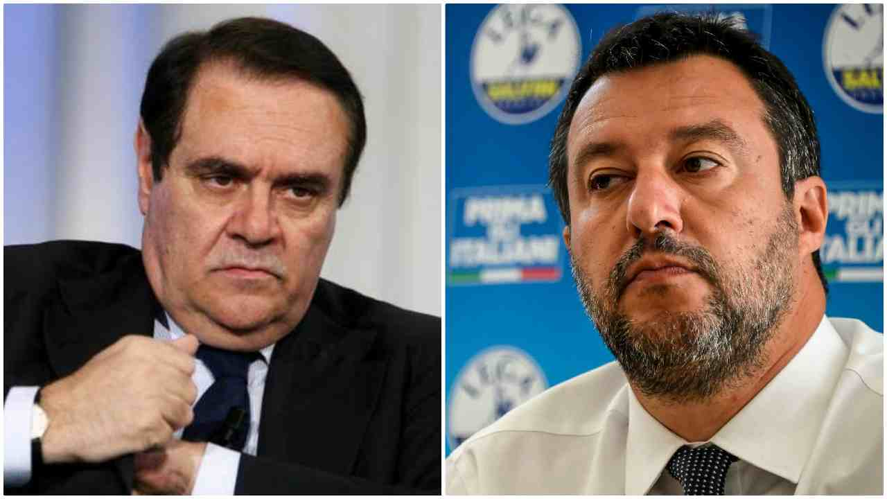 Mastella multa Salvini e lui lo attaca