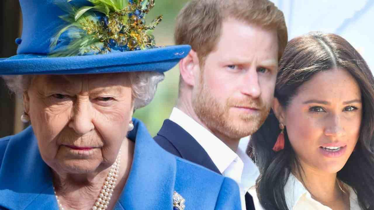 Meghan Markle Principe Harry regina elisabetta II