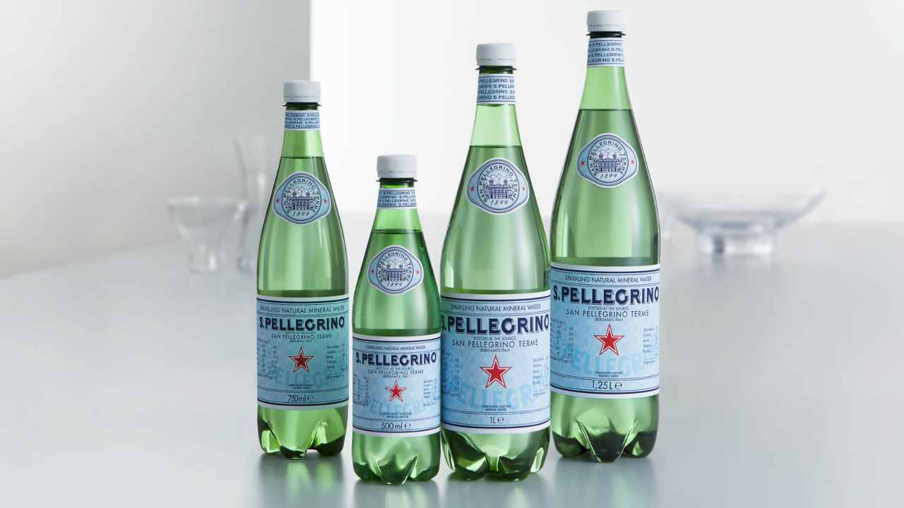 San Pellegrino e la scelta ecologica per imballi e bottiglie