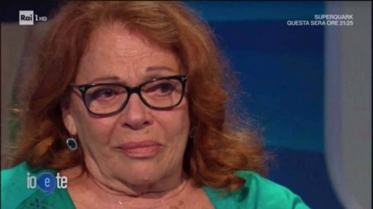 Valeria Fabrizi morte figlio