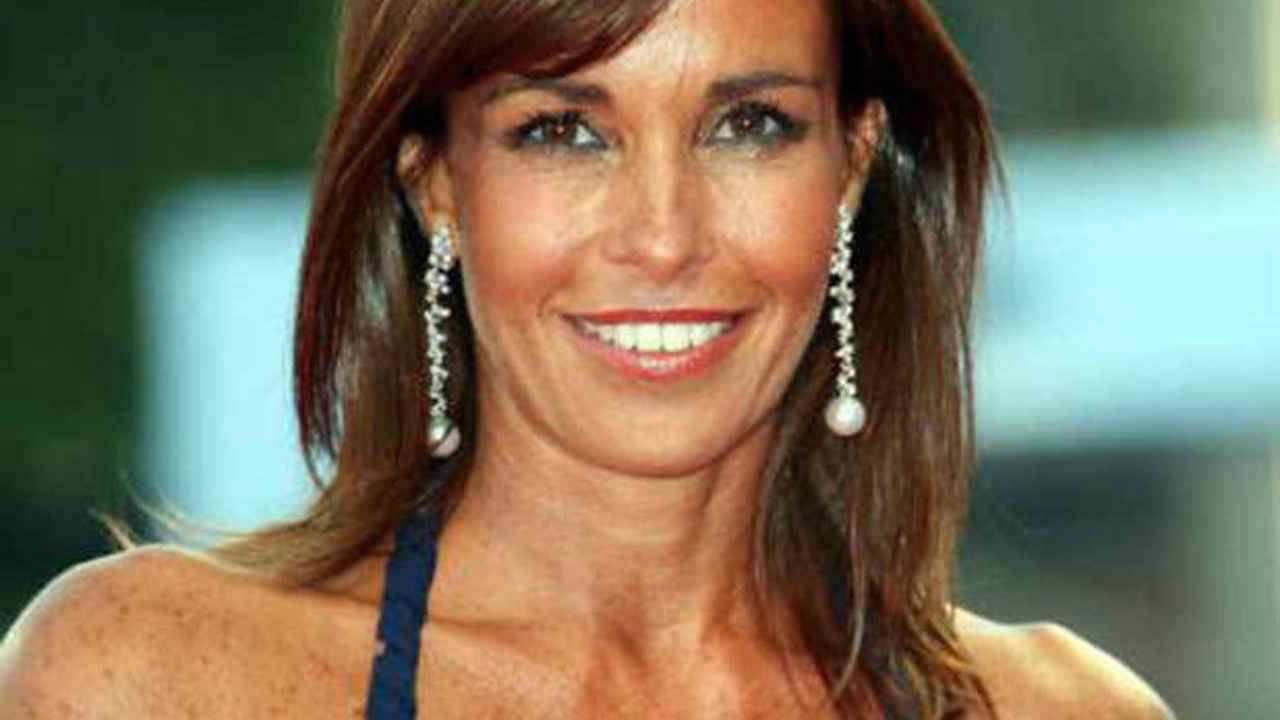 Cristina Parodi senza trucco