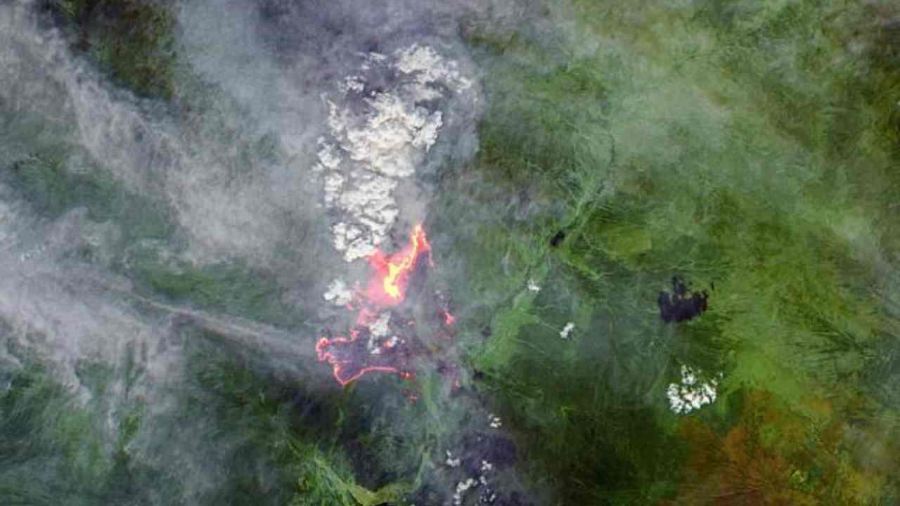 Incendi siberia polo nord