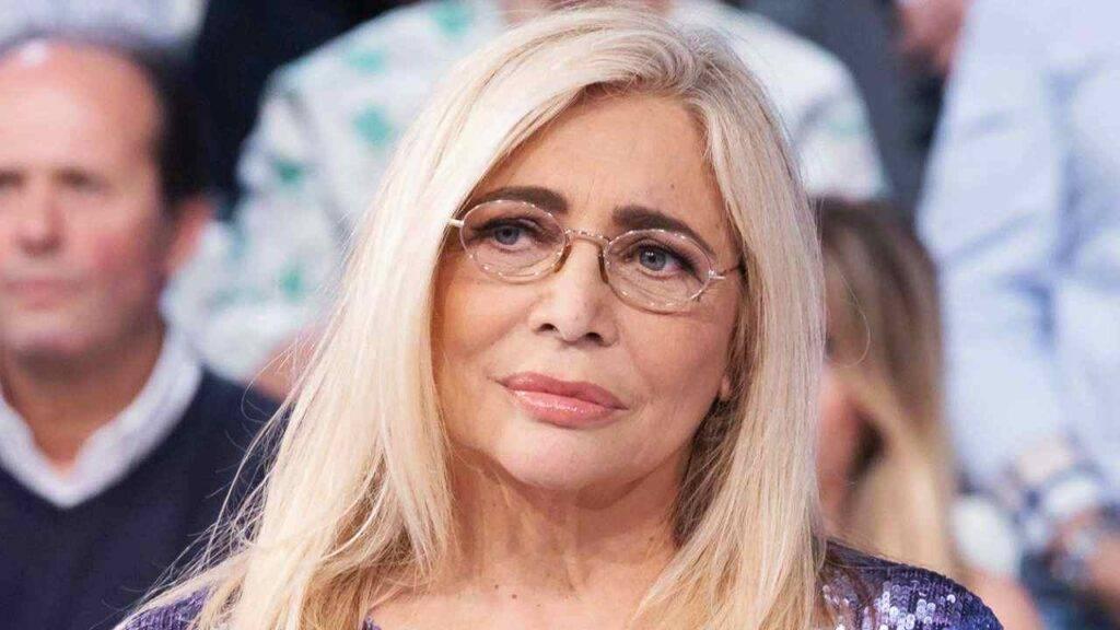 Mara Venier il dramma dell'alzheimer della mamma
