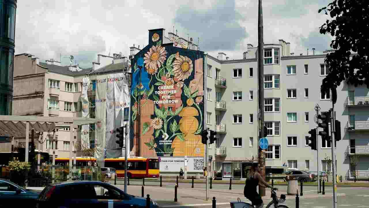 murale varsavia