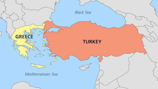 Cartina Italia Grecia Turchia.Guerra Del Mediterraneo Orientale Grecia E Turchia In Rotta Di Collisione