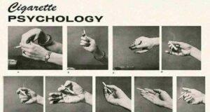 Test psicologico: come tieni la sigaretta