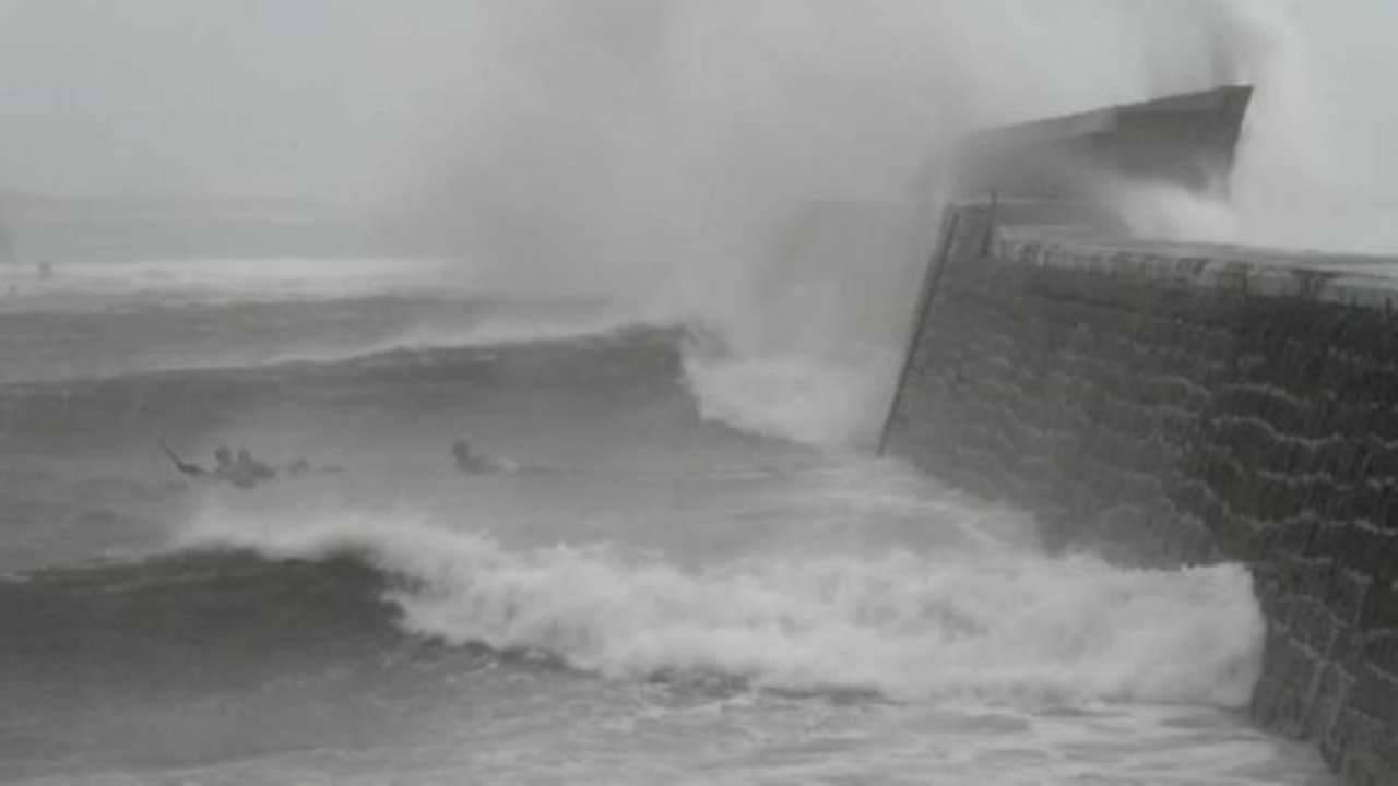 violenta tempesta Grecia