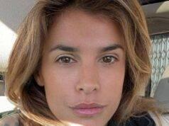 Elisabetta Canalis incendio
