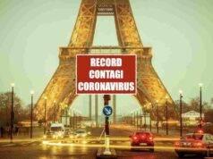 Francia nuovo record contagi coronavirus