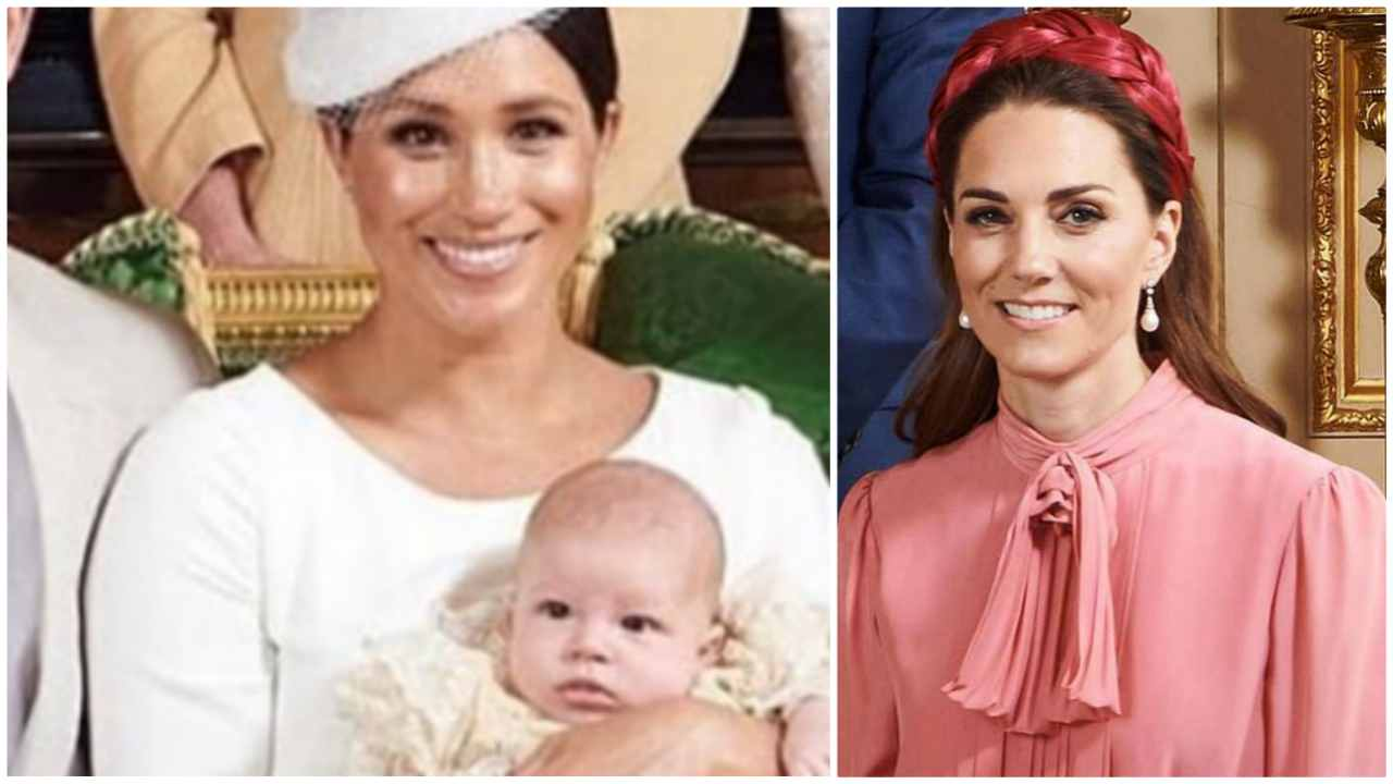 Kate Middleton Archie Meghan