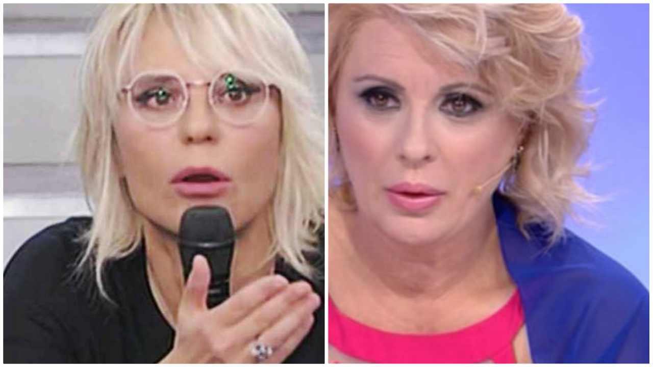 Maria De Filippi furia Tina Cipollari