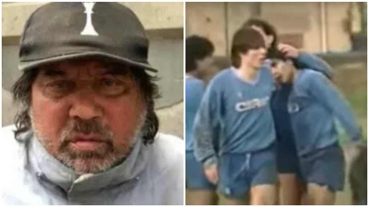 Pietro puzone maradona barbone