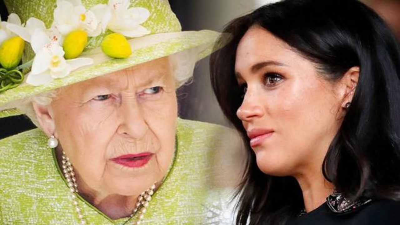 Regina Elisabetta Meghan Markle ospita sgradita