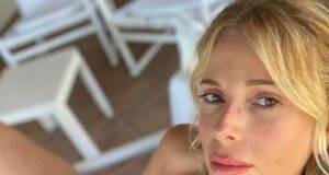 Alessia Marcuzzi minigonna