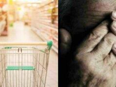 Terni anziano picchiato in supermercato